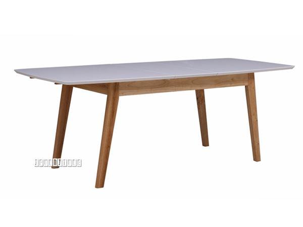 Sevenoaks 180 220 Extension Dining Table With Oak Legs Pertaining To Extension Dining Tables (View 23 of 25)