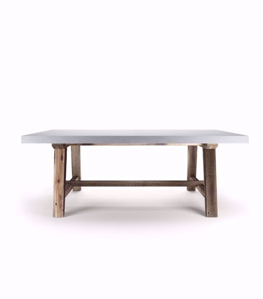 Shenandoah Dining Table With Regard To Acacia Wood Dining Tables With Sheet Metal Base (View 12 of 25)