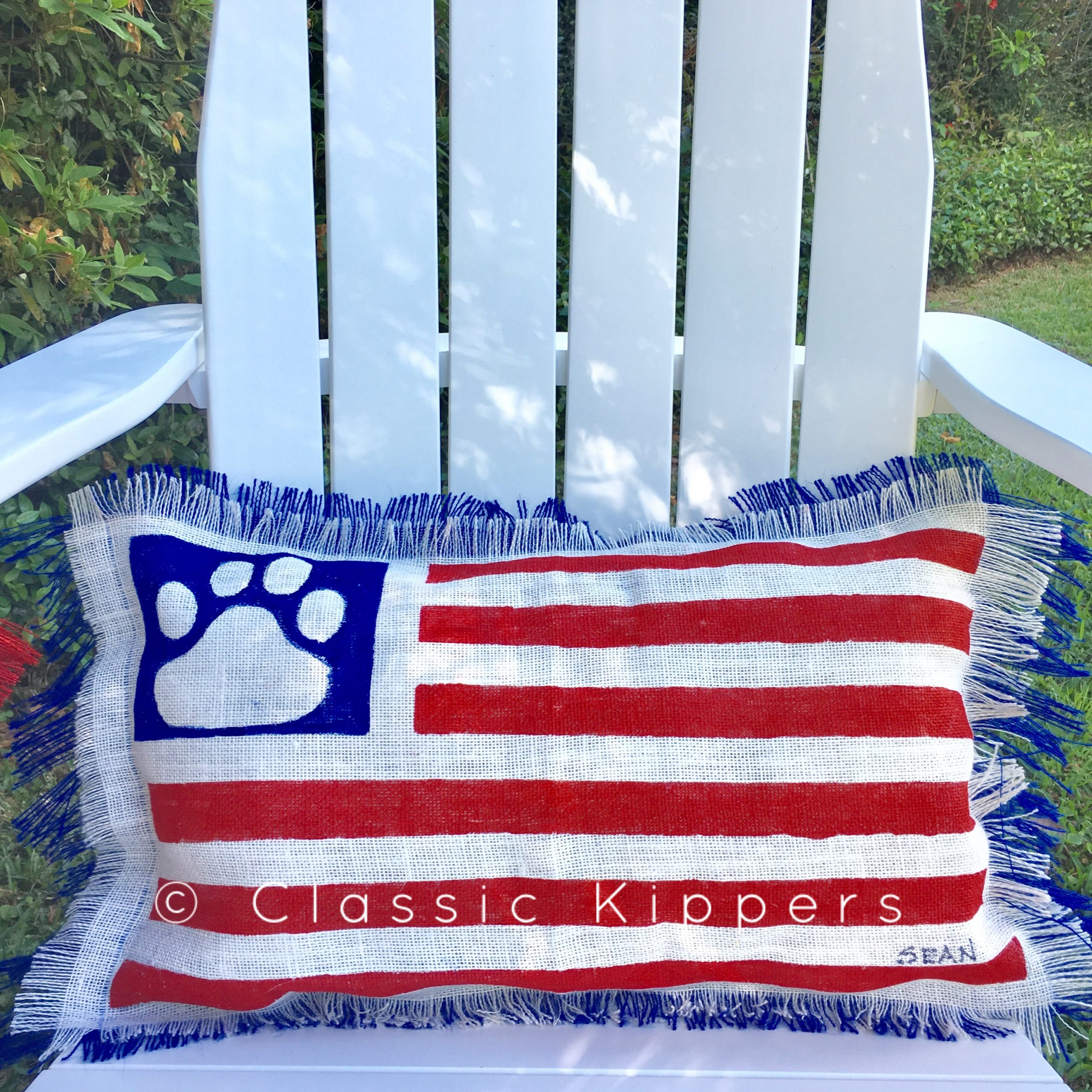 She's A Grand Old Flag! | Classic Kippers Pertaining To American Flag Porch Swings (View 21 of 25)