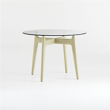 Shop Dining Room & Kitchen Tables Online | Crate And Barrel With Regard To Transitional 4 Seating Double Drop Leaf Casual Dining Tables (View 18 of 25)