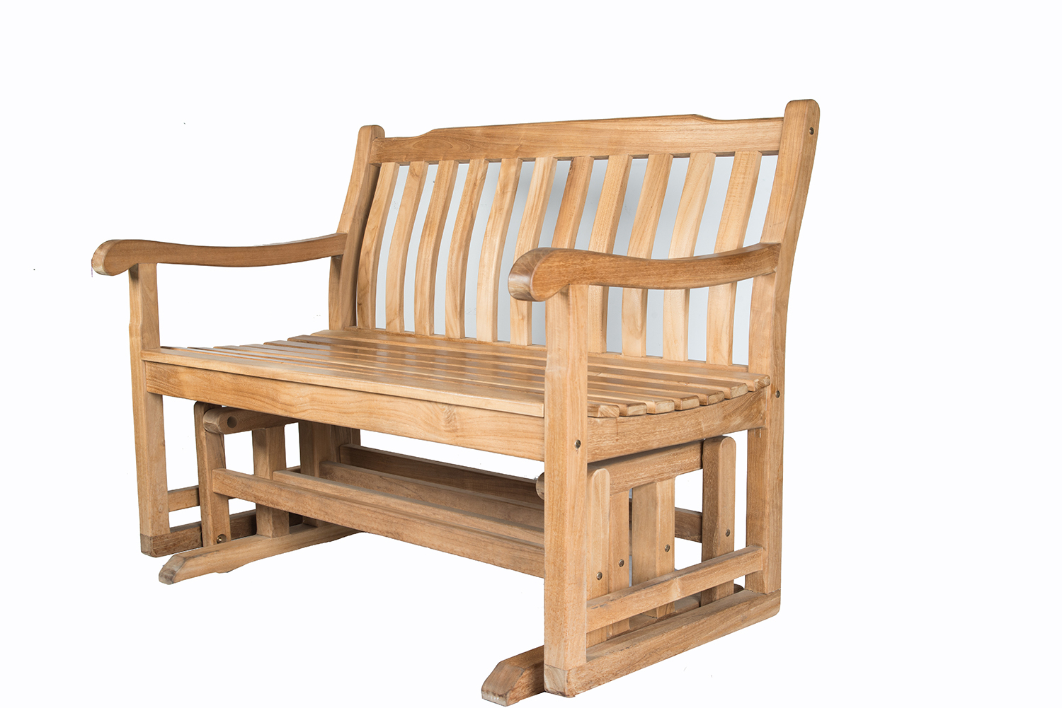 Shop For Dewata Classic Teak Wood B+ Class Glider Bench In Classic Adirondack Glider Benches (View 18 of 25)