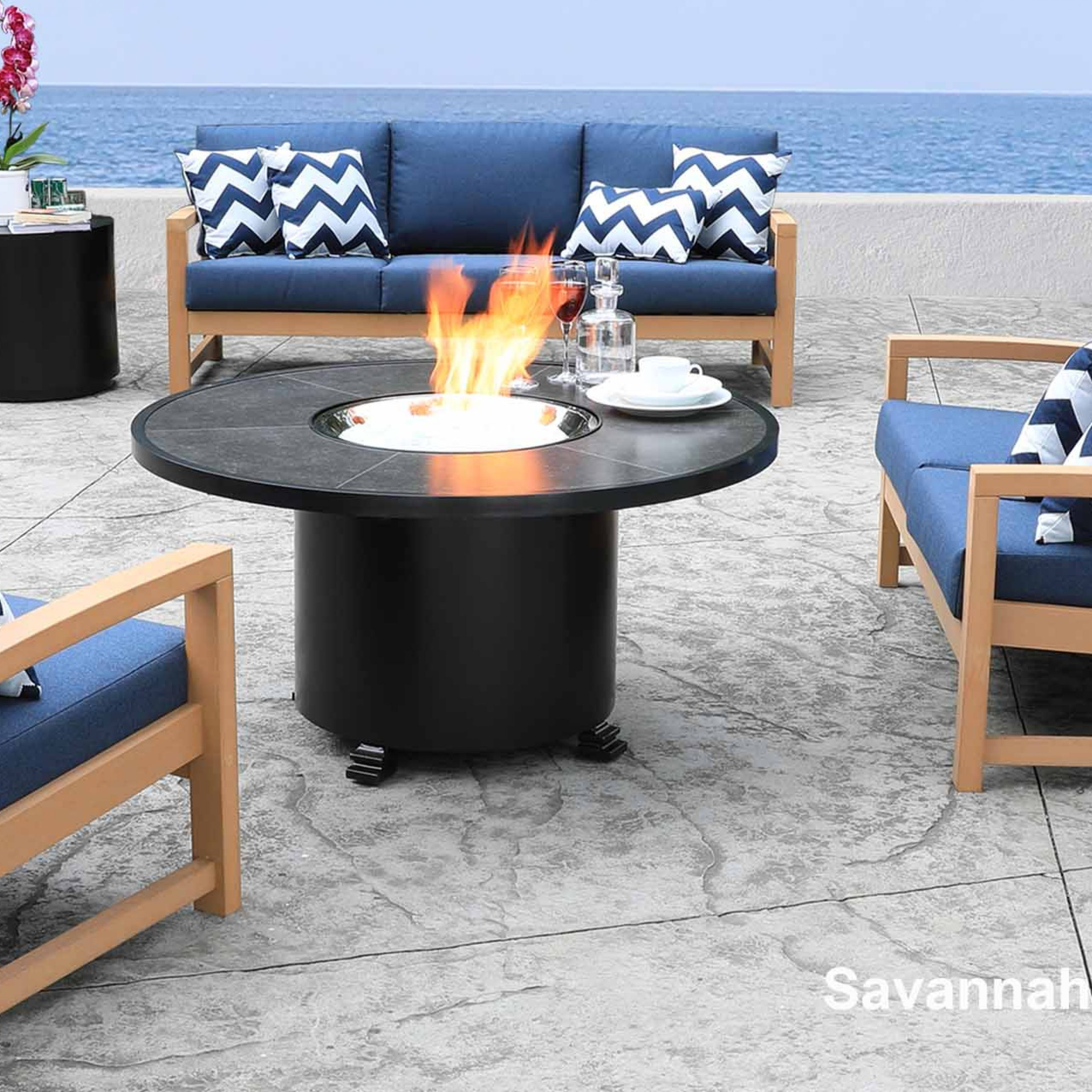 Shop Patio Furniture At Cabanacoast® Throughout Outdoor Wicker Plastic Half Moon Leaf Shape Porch Swings (View 8 of 25)