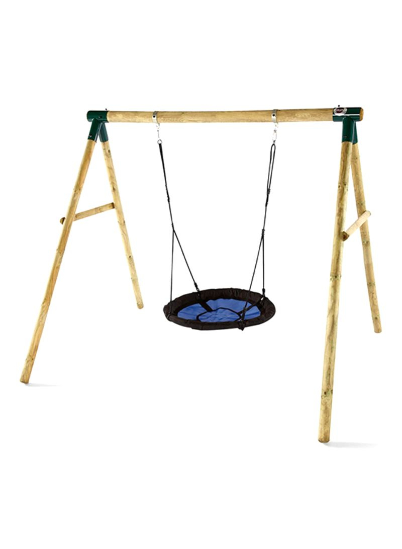 Shop Plum Spider Monkey Ii Garden Swing Set Online In Dubai For Nest Swings With Adjustable Ropes (View 10 of 25)
