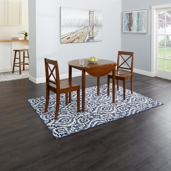 Silverwood Furniture Reimagined Murphy 3 Piece Brown Drop In Transitional 4 Seating Drop Leaf Casual Dining Tables (Image 22 of 25)
