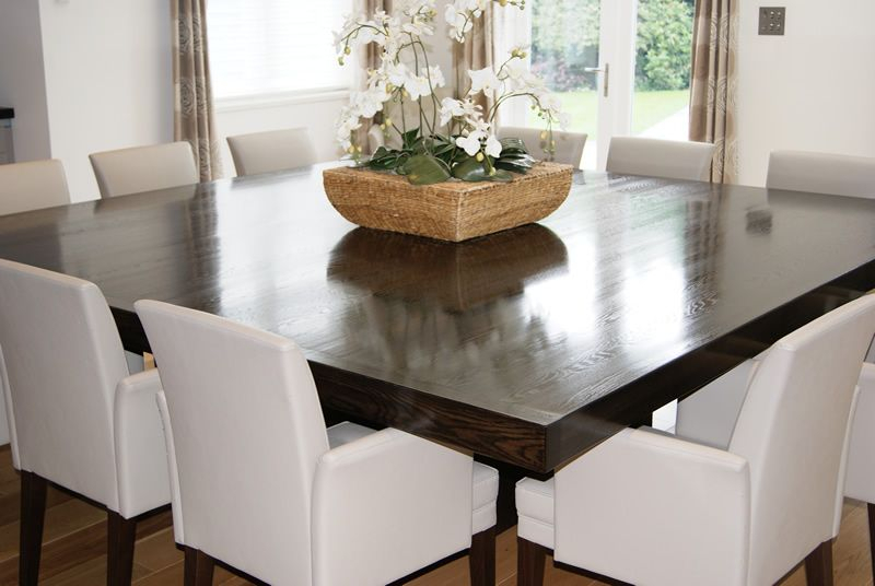 Simple Of 12 Seater Square Dining Table Dining Room Table Intended For Transitional 4 Seating Square Casual Dining Tables (View 3 of 25)