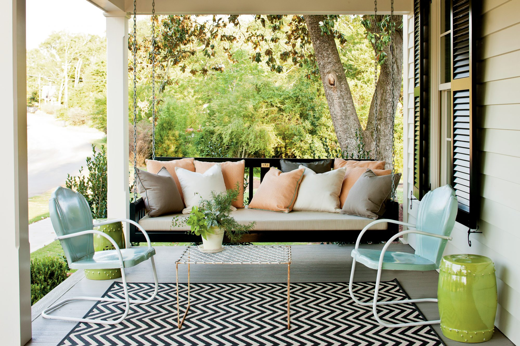 Sit A Spell! 10 Peaceful Porch Swings Throughout Outdoor Porch Swings (View 17 of 25)