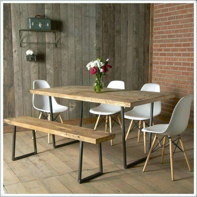 Small Dining Set With Bench – Timabel For Small Rustic Look Dining Tables (Image 20 of 25)