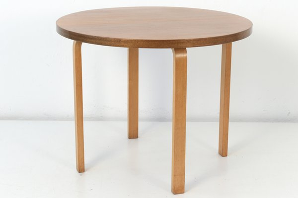 Small Vintage Round Dining Tablealvar Aalto For Artek With Neo Round Dining Tables (View 10 of 25)