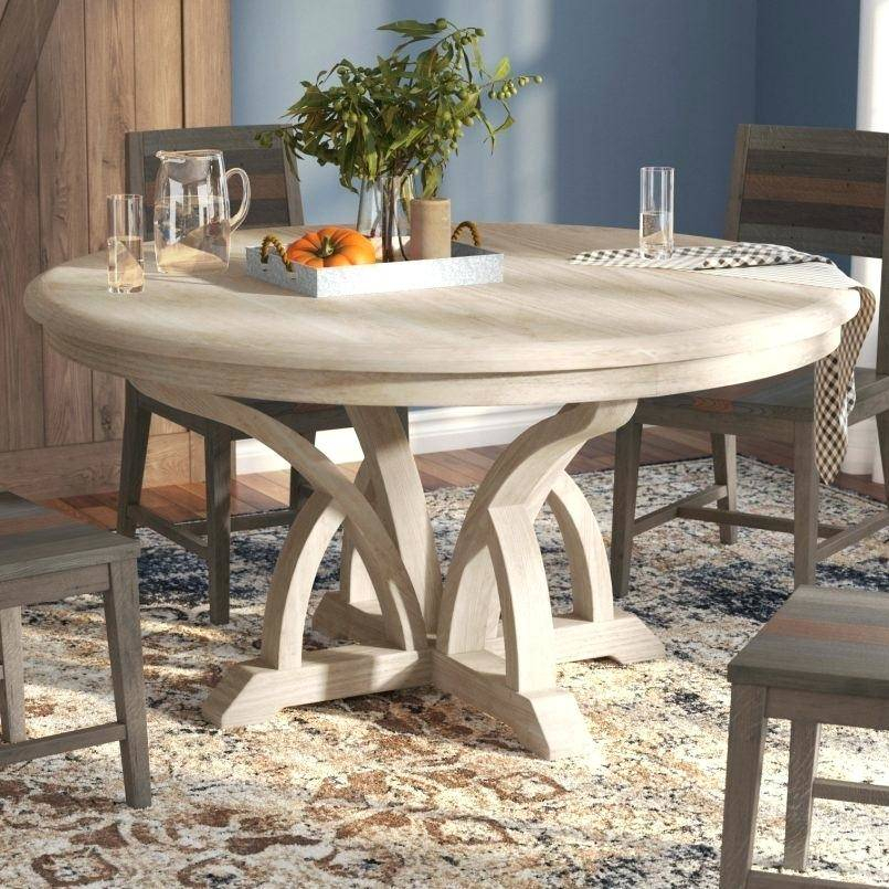 Small Wood Dining Table Round Room Sets Set Contemporary Intended For Solid Wood Circular Dining Tables White (Image 16 of 25)
