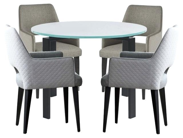 Smoked Glass Dining Table Chrome 1 Frosted Top – Pridepr Regarding Smoked Oval Glasstop Dining Tables (View 21 of 25)