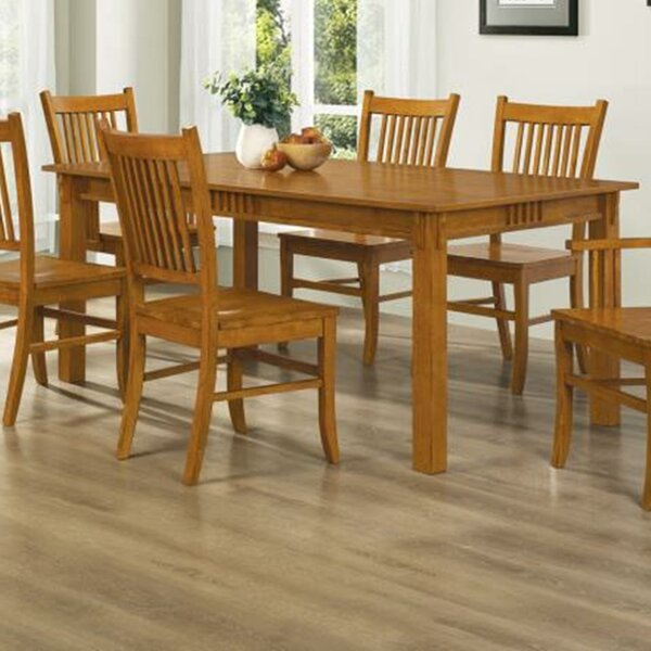 Smooth Traditional Dining Table | Wayfair (Image 19 of 25)