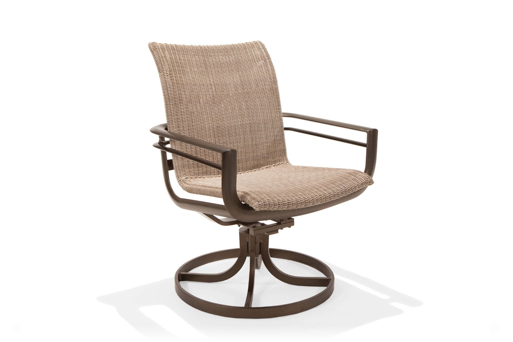 Southern Cay Woven High Back Swivel Tilt Chair With Regard To Woven High Back Swivel Chairs (Image 22 of 25)