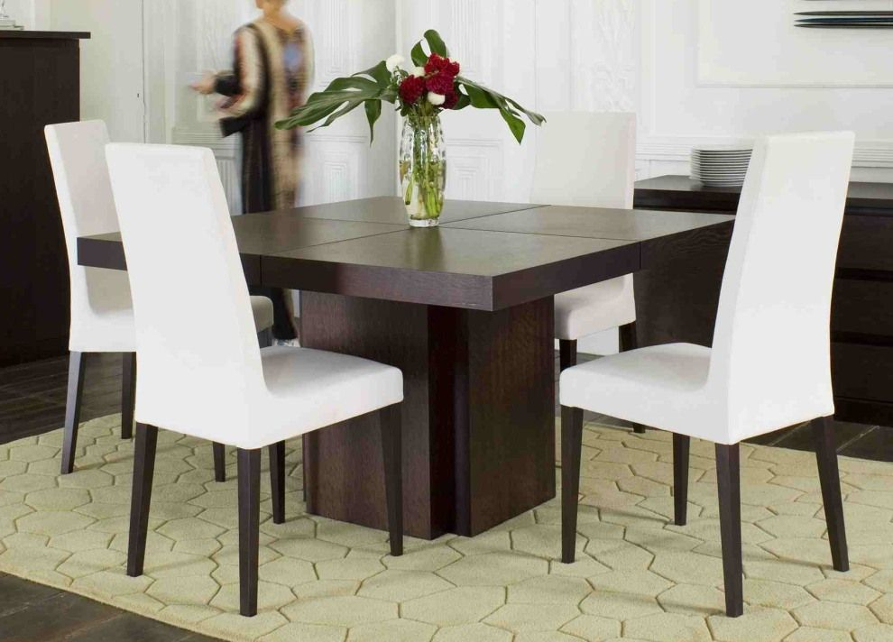 Featured Image of Contemporary 4 Seating Square Dining Tables