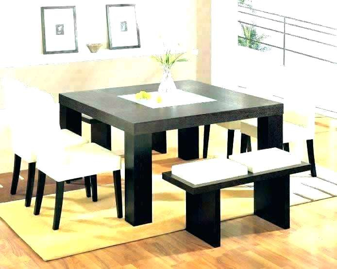Square Dining Table For 8 Modern – Superfilms (View 22 of 25)