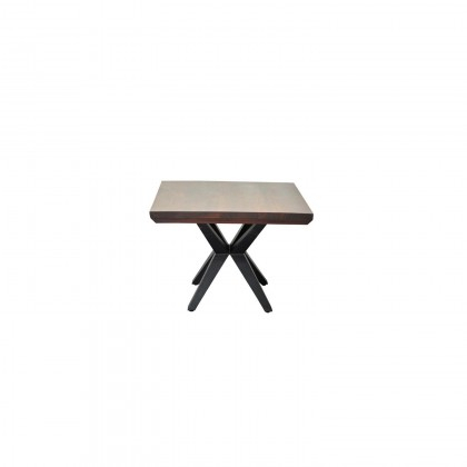 Streamline Side Table | Cdi Furniture Pertaining To Acacia Wood Dining Tables With Sheet Metal Base (View 10 of 25)