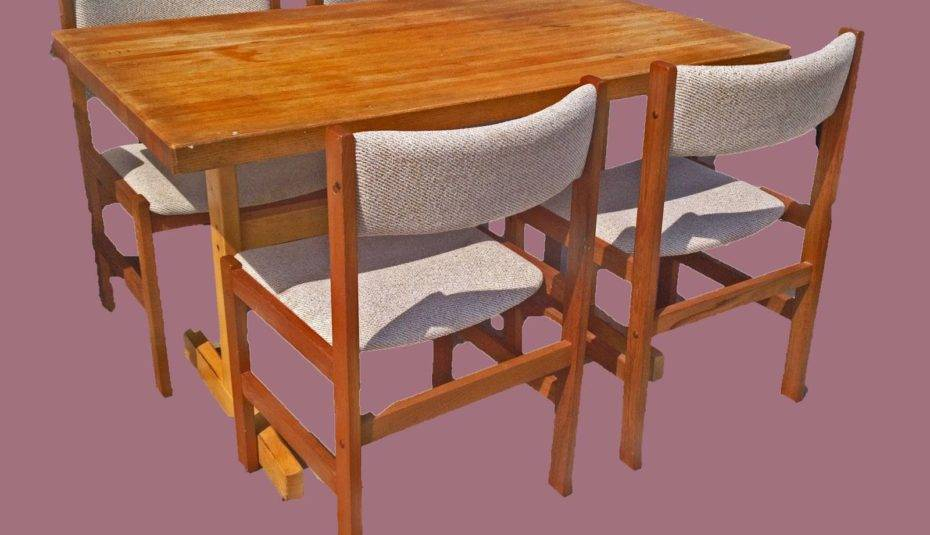 Stunning Wooden Dining Table Cross Legs Butcher Block Plans Throughout Acacia Dining Tables With Black Legs (View 20 of 25)
