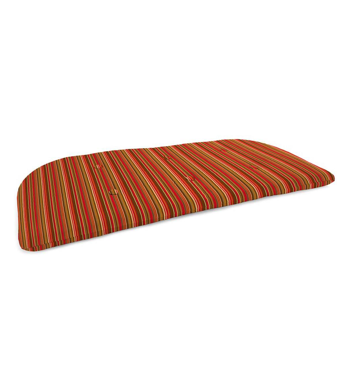 "Sunbrella Classic Tufted Swing/bench Cushion, 41¾"" X 18¾""x 3 Regarding Deluxe Cushion Sunbrella Porch Swings (View 12 of 25)"