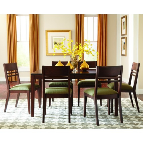 Sunpan Mixt Langley Dining Set In Grey | Best Priced Quality In Acacia Dining Tables With Black Victor Legs (Image 19 of 25)