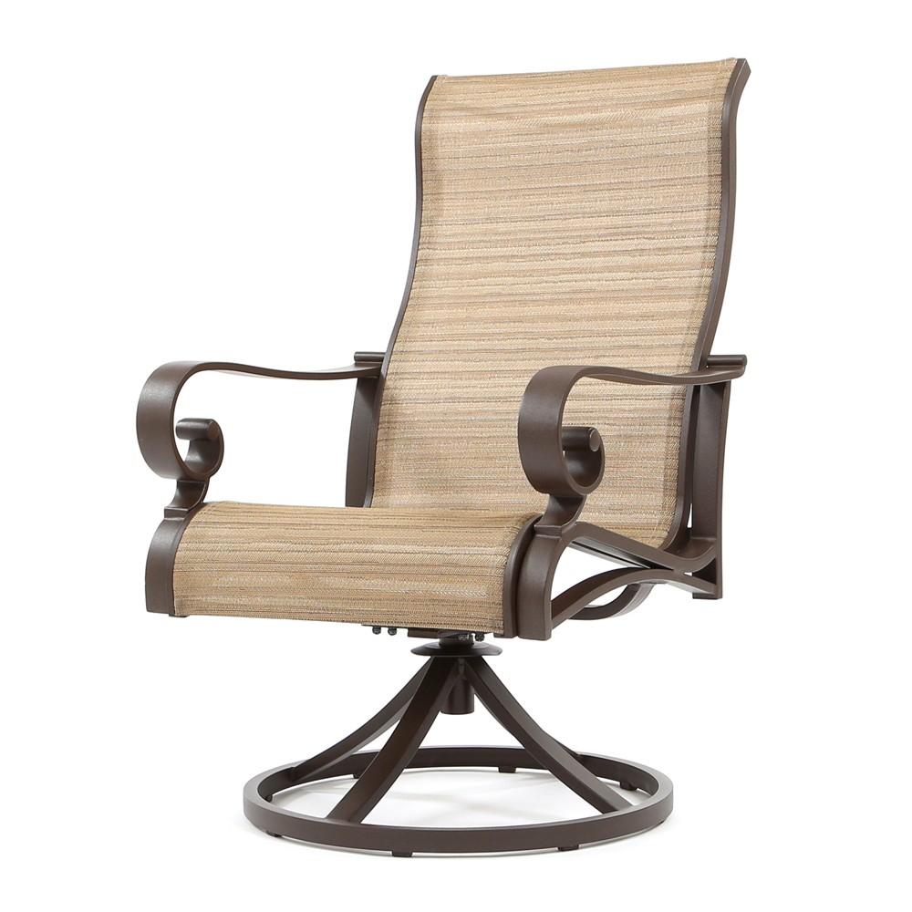 Sunvilla Riva Sling High Back Swivel Rocker Intended For Sling High Back Swivel Chairs (View 6 of 25)