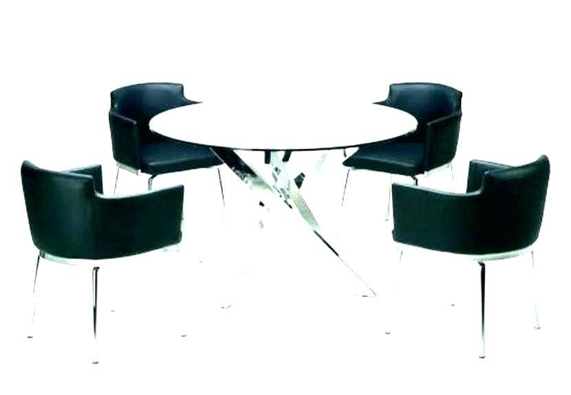 Surprising Modern Round Glass Top Dining Table Tempered Mid Within Modern Round Glass Top Dining Tables (Image 24 of 25)