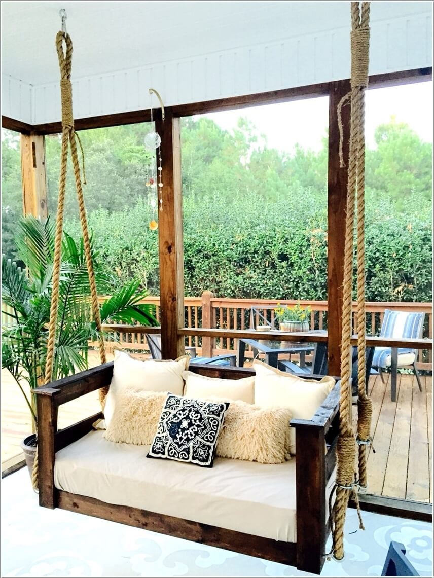 25 Inspirations Porch Swings