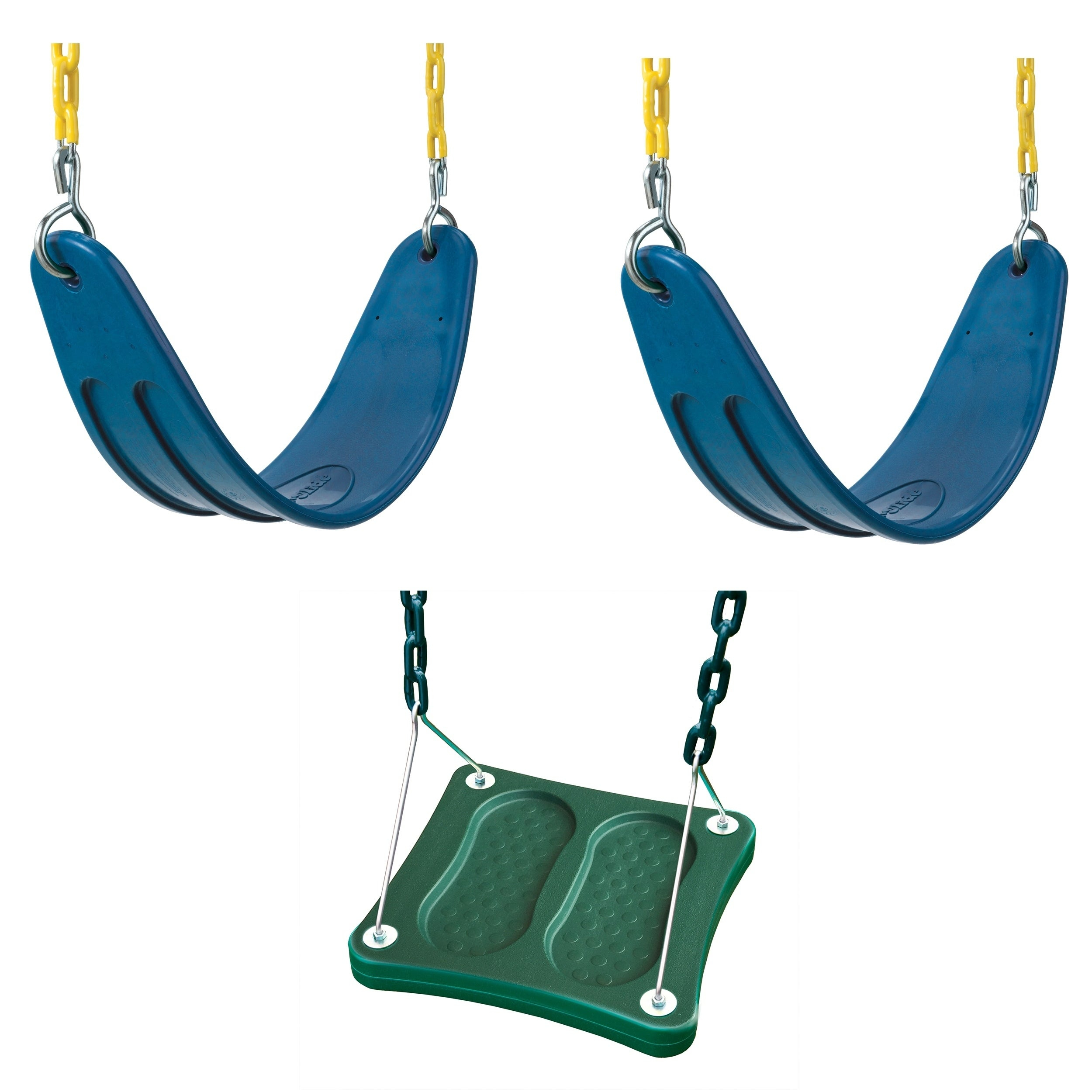 Swing N Slide 2 Blue Extreme Duty Swing Seats With Chains And Stand Up Swing – N/a Within Swing Seats With Chains (View 6 of 25)