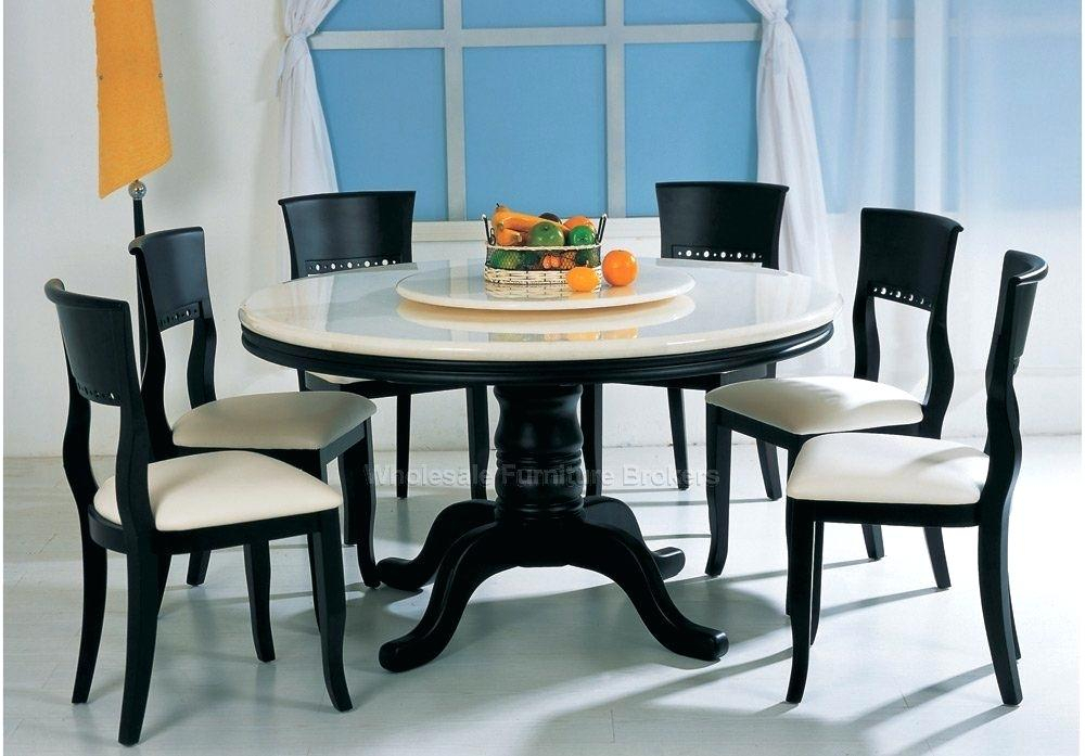 Table And 6 Chair Set – Insidestories Intended For Contemporary 6 Seating Rectangular Dining Tables (Photo 15 of 25)