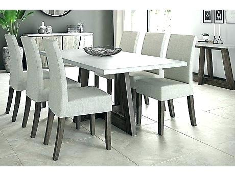 Table And 6 Chair Set – Insidestories With Contemporary 6 Seating Rectangular Dining Tables (View 17 of 25)