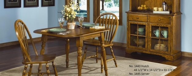 Table | Ogle Furniture In Transitional 4 Seating Drop Leaf Casual Dining Tables (Image 21 of 25)