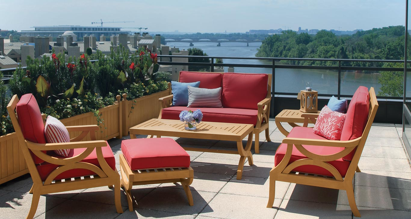 Teak Furniture New York | Country Casual Teak For Teak Outdoor Glider Benches (View 17 of 25)