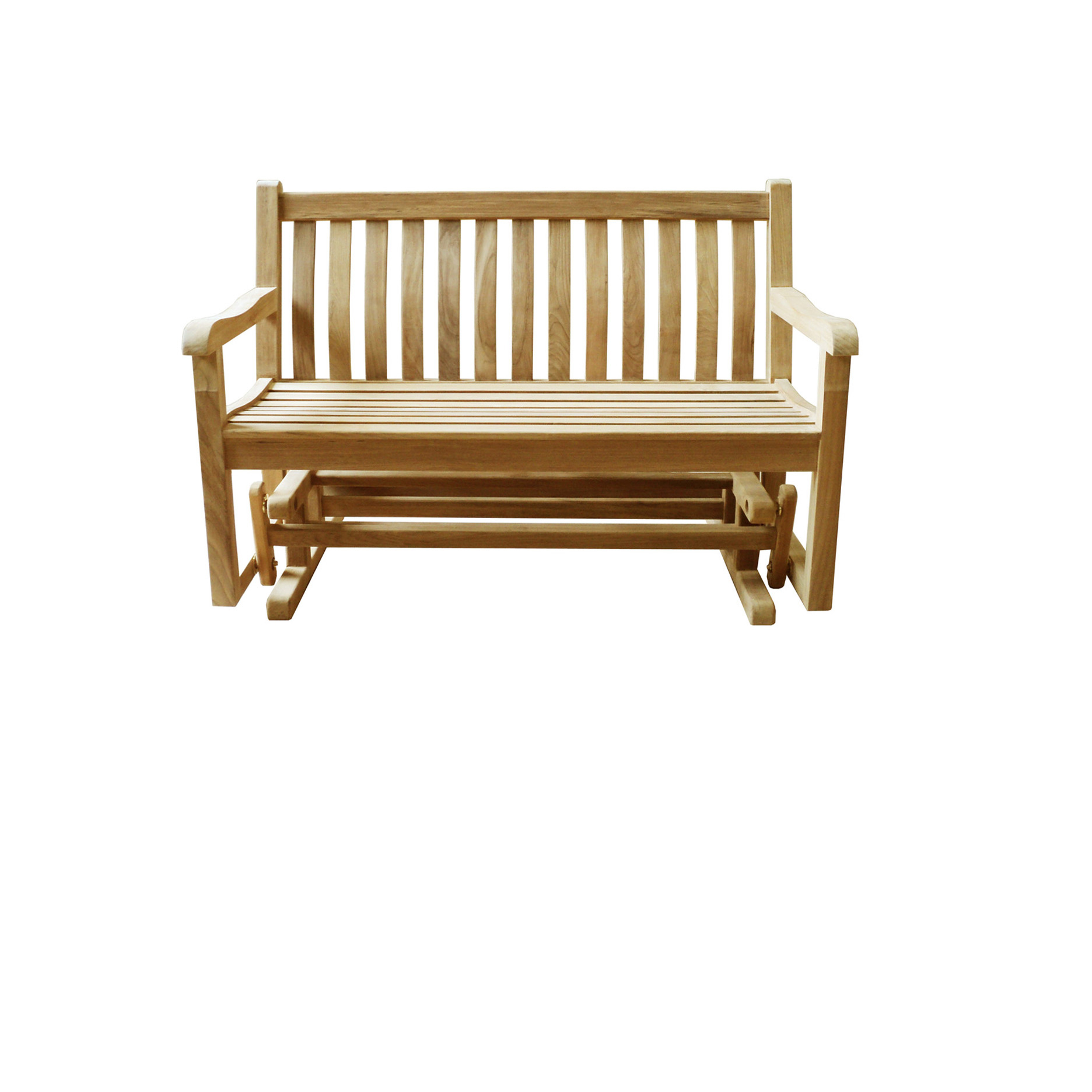 Teak Outdoor Bench Glider Classic | Asia Concept | High With Teak Outdoor Glider Benches (View 24 of 25)