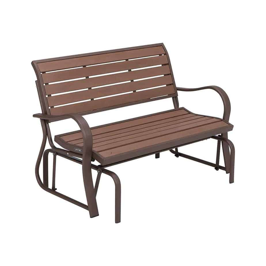 The 10 Best Patio Gliders (2020) For Hardwood Porch Glider Benches (View 11 of 25)