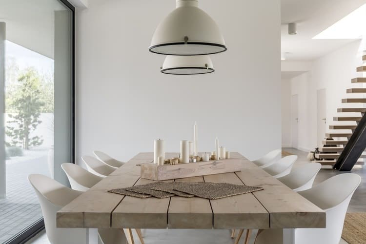 The 25 Best Dining Room Tables Of 2019 – Family Living Today With Walnut And Antique White Finish Contemporary Country Dining Tables (View 13 of 25)