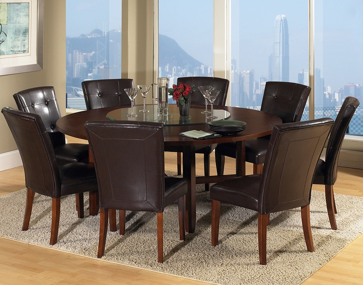 The Large Round Dining Table For 8 | Dreamehome Inside Elegance Large Round Dining Tables (Image 24 of 25)
