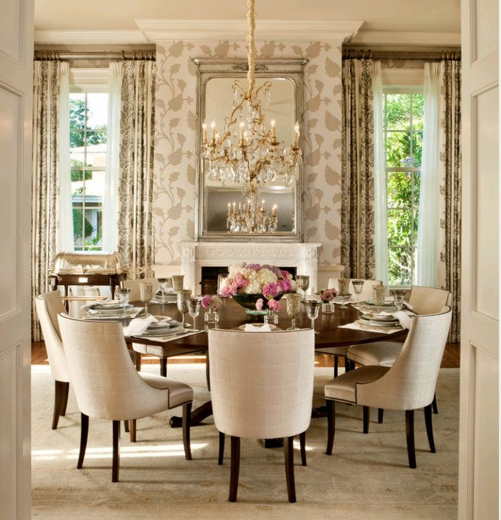 The Most Elegant Round Dining Table Decor Ideas | Dining Regarding Elegance Small Round Dining Tables (View 5 of 25)