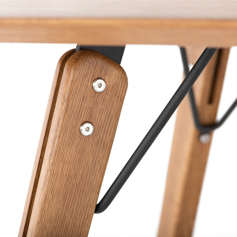 Theo – Nuevo For Fumed Oak Dining Tables (View 22 of 25)