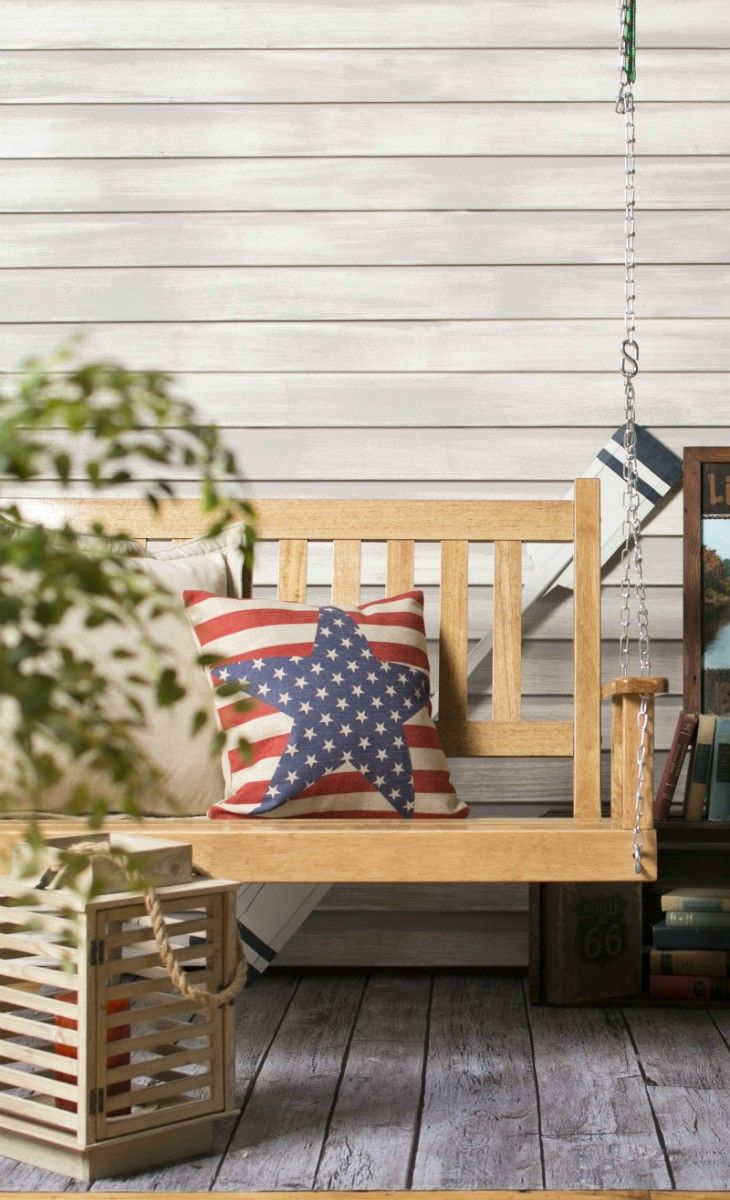 There's Nothing More Classic American Than A Porch Swing Within American Flag Porch Swings (View 12 of 25)