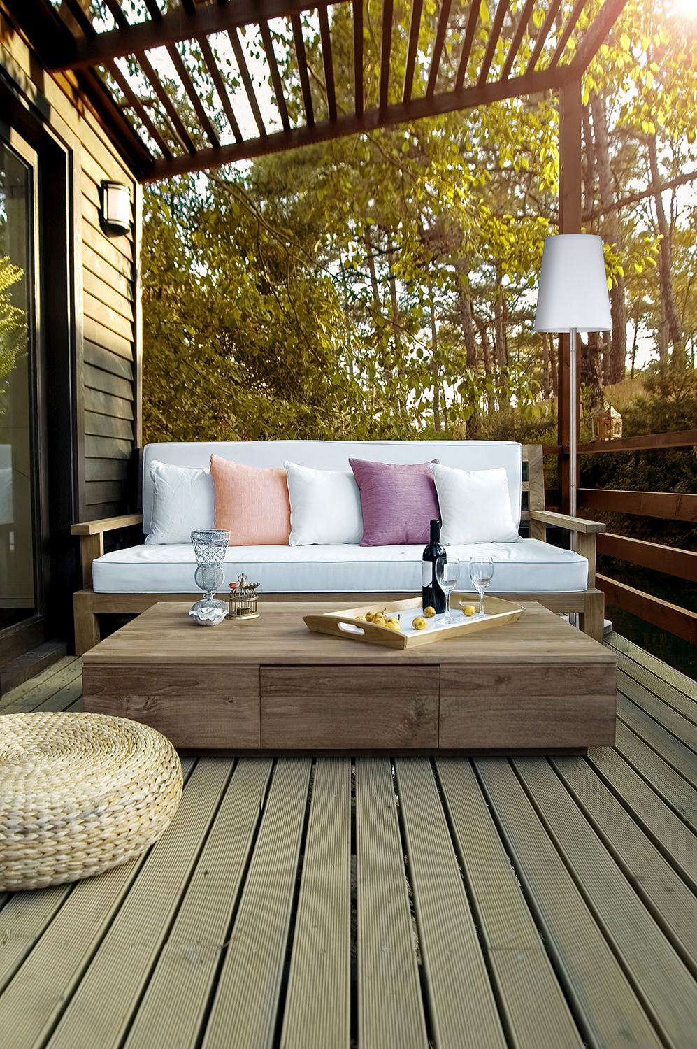 Time For Pergolas, Decks, Out Door Spaces To Enjoy! | Spring With Regard To Lamp Outdoor Porch Swings (View 10 of 25)