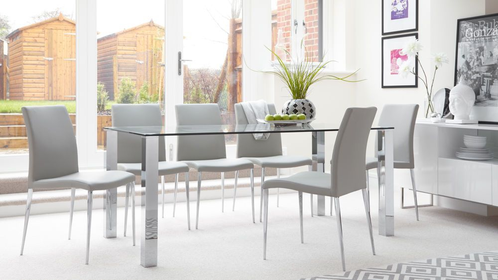 Featured Image of Contemporary 6 Seating Rectangular Dining Tables