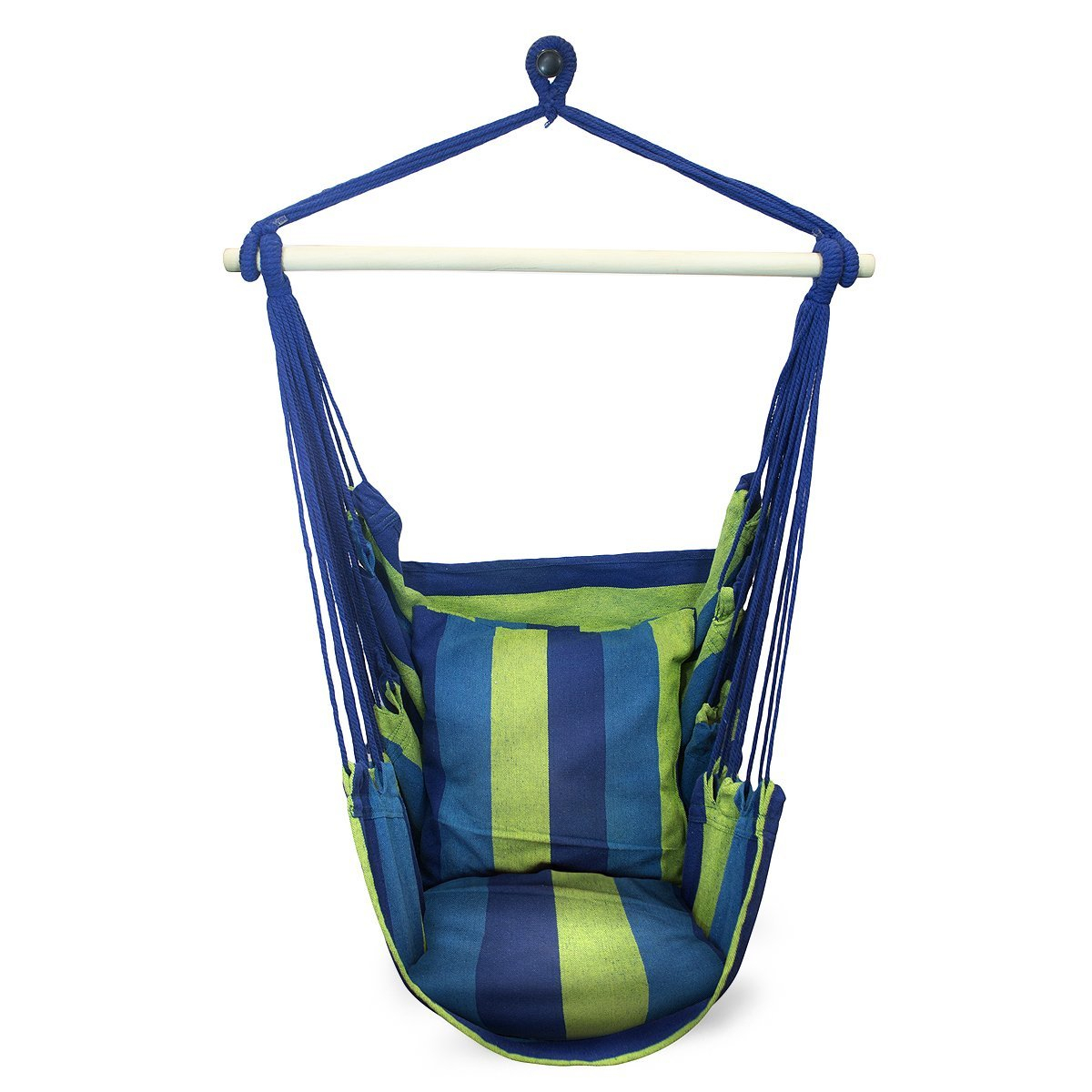 Top 10 Best Hammock Chairs And Swings In 2019 Reviews – Thetbpr Pertaining To Cotton Porch Swings (View 22 of 25)