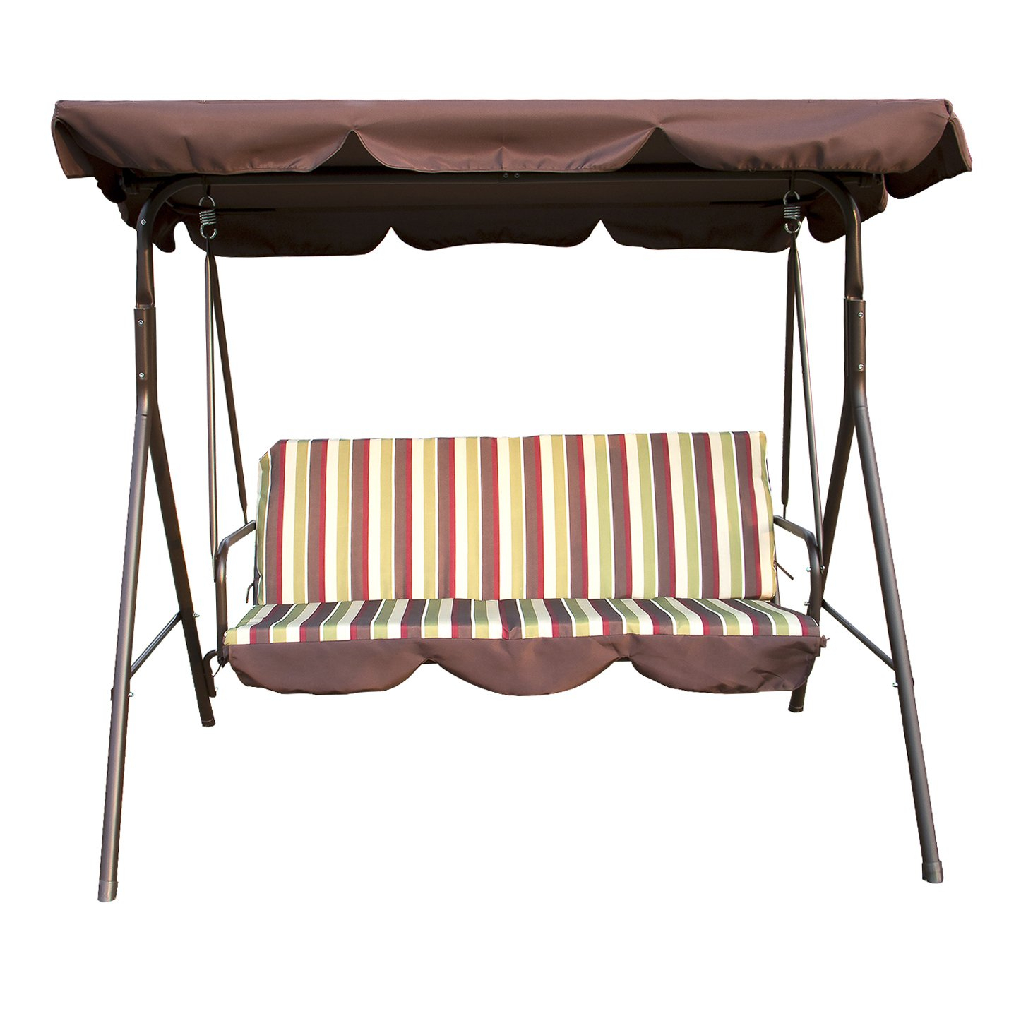 Top 10 Best Porch Swings With Stands In 2019 – Brain And Mouth Intended For Outdoor Canopy Hammock Porch Swings With Stand (View 5 of 25)