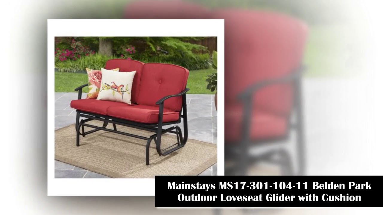 Top 10 Outdoor Glider To Buy In 2018 – Youtube For Outdoor Loveseat Gliders With Cushion (View 20 of 25)