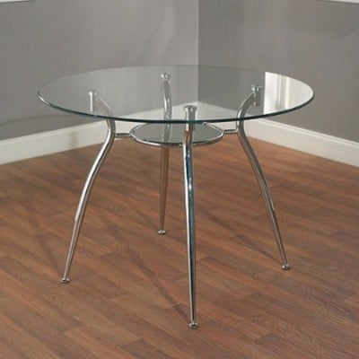 Top 8 Best Glass Dining Tables In 2020 Reviews With Regard To Chrome Dining Tables With Tempered Glass (View 24 of 25)