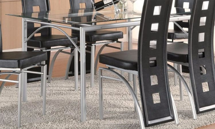 Top 8 Best Glass Dining Tables In 2020 Reviews With Regard To Coaster Contemporary 6 Seating Rectangular Casual Dining Tables (View 15 of 25)