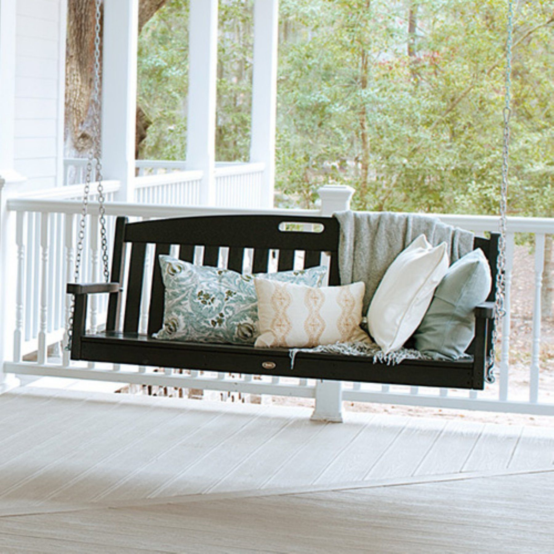 Trex Outdoor Furniture Recycled Plastic 5 Ft (View 7 of 25)