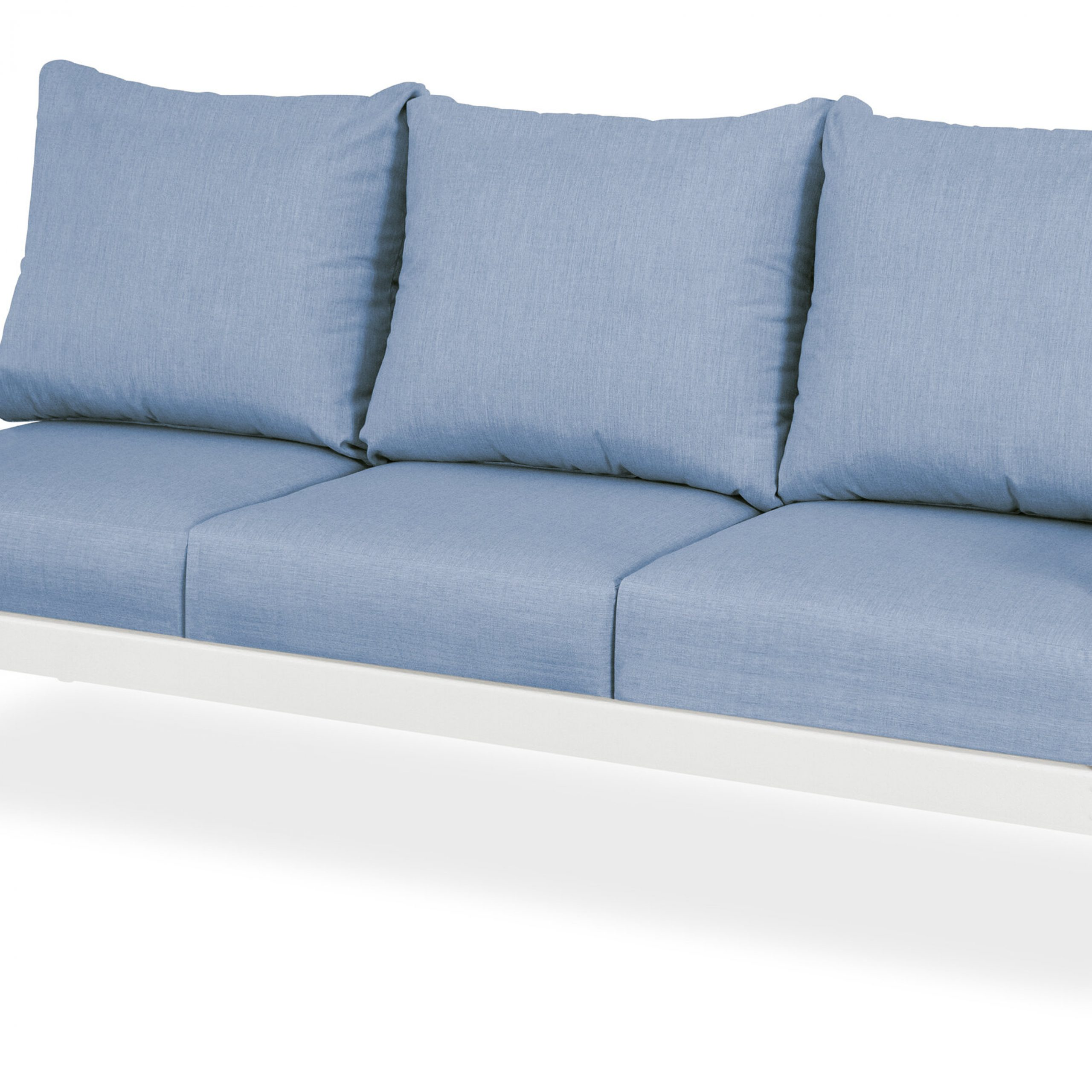Trex Yacht Club Deep Patio Sofa With Sunbrella Cushions With Outdoor FurnitureYacht Club 2 Person Recycled Plastic Outdoor Swings (View 22 of 25)