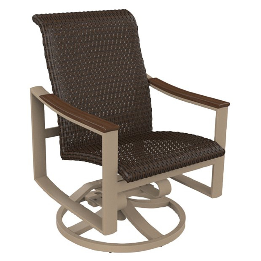 Tropitone – Viking Casual Furniture With Regard To Woven High Back Swivel Chairs (Image 23 of 25)