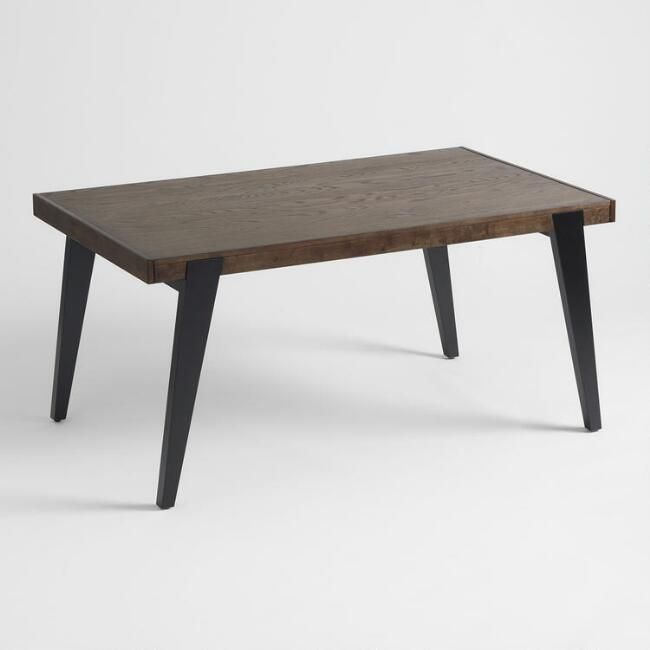 Two Tone Wood Dominick Extension Dining Tableworld Regarding Extension Dining Tables (View 2 of 25)