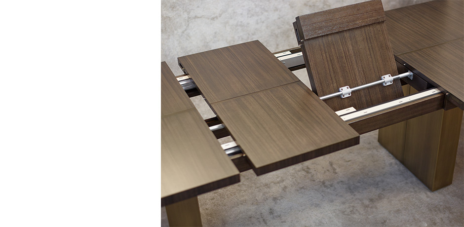 Vincent Extension Dining Table – Dining Tables – Joseph Jeup With Extension Dining Tables (Photo 10 of 25)