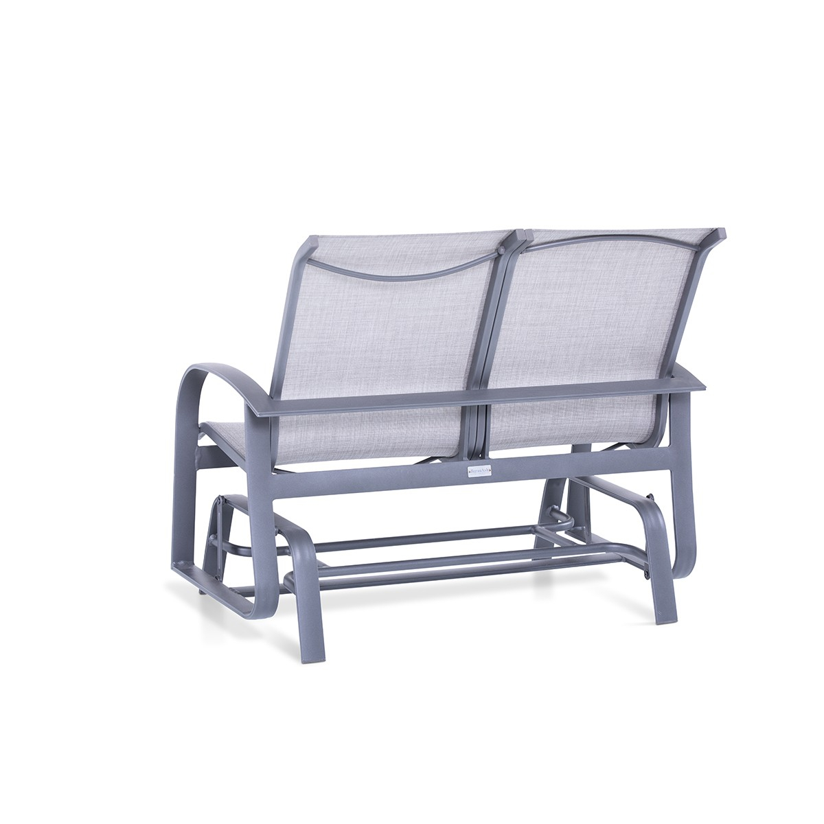 Wakefield Sling Double Glider – Patio Accessories – The With Sling Double Glider Benches (View 19 of 25)